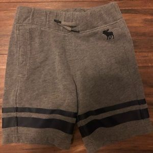 Abercrombie kids sweat shorts